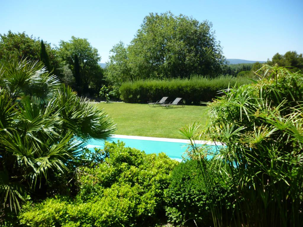 piscine vue sud
